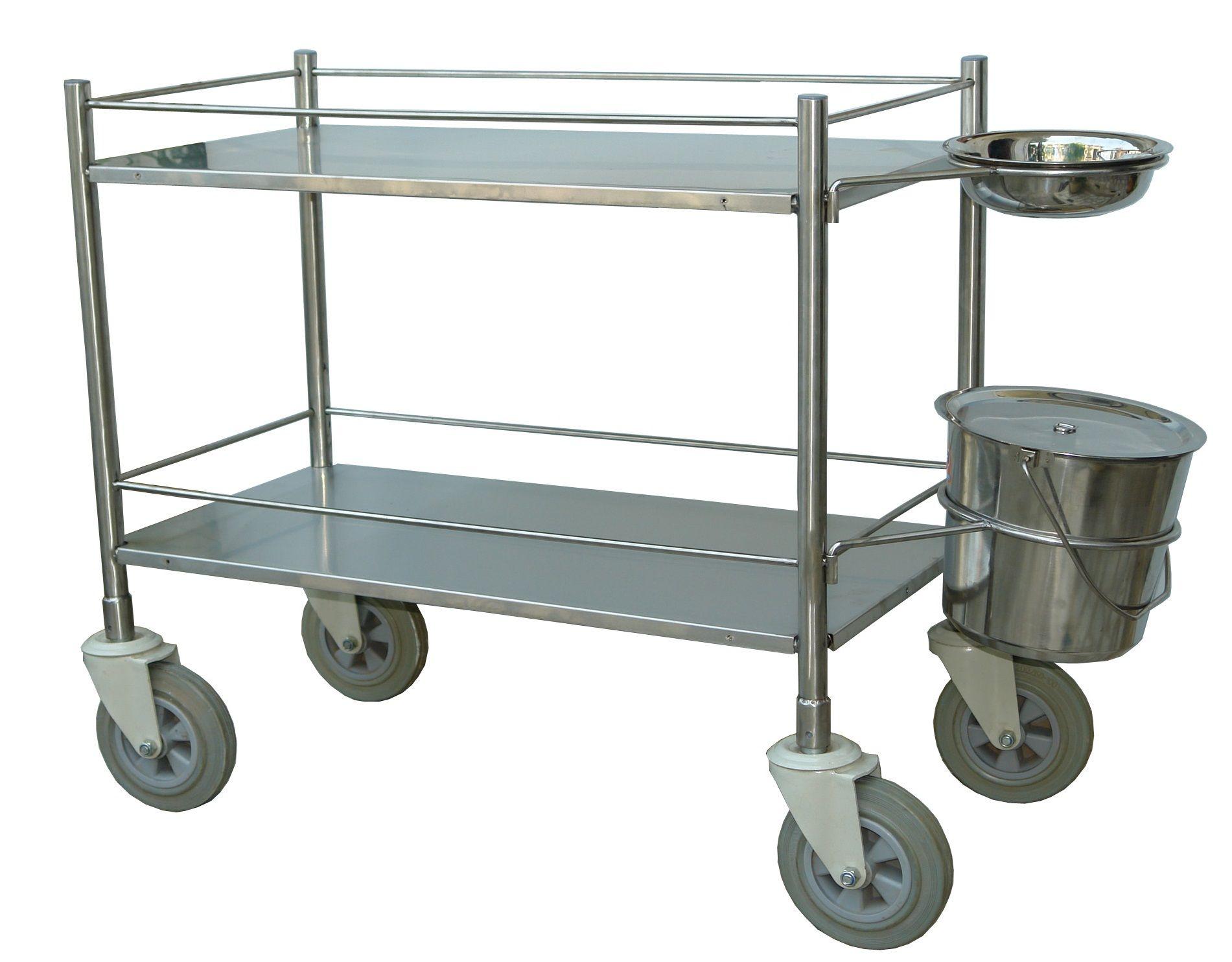 Jeegar Enterprise-Dressing trolley s.s.