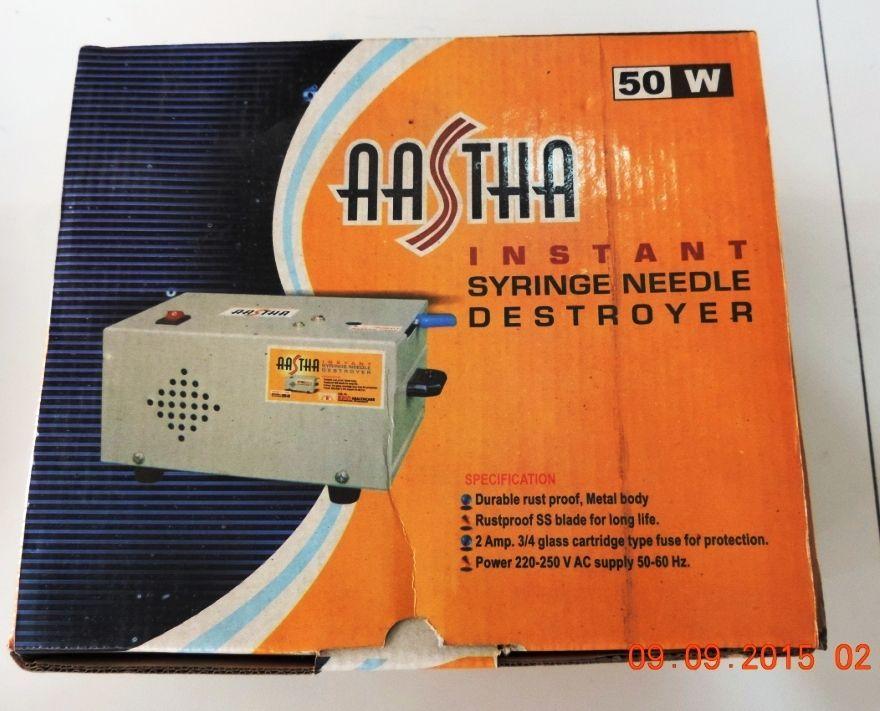 Instant Syringe Needle Destroyer - 50W