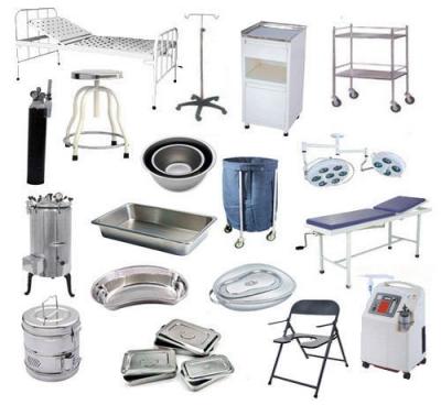 hospital equipment price list pdf