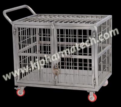 SS Cage Trolley & Shipper Trolley