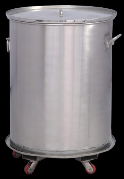 SS Powder Storage Container