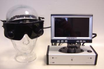 Diagnosis of balance Frenzl glasses
