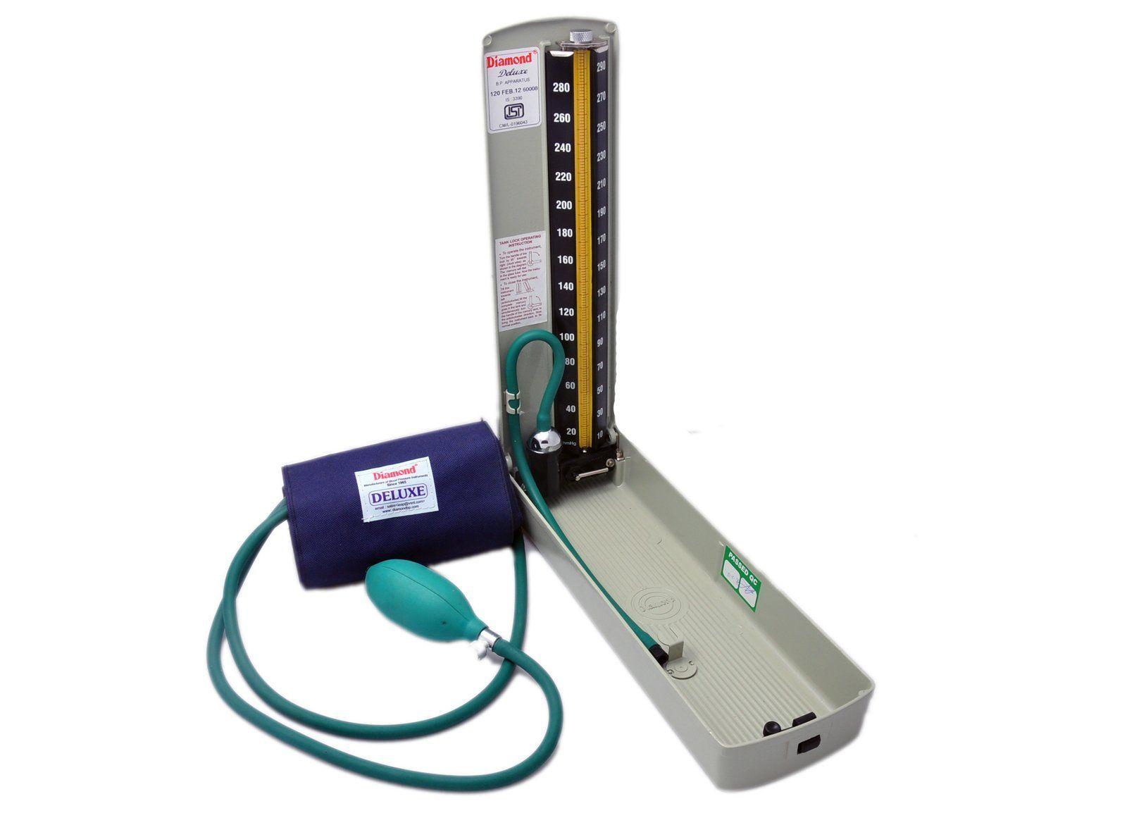 Jasmine Surgical-Diamond BP Mercury Meter/ Apparatus - DELUX