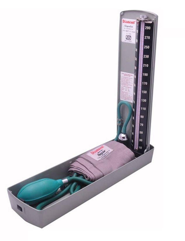 Jasmine Surgical-Diamond BP Mercury Meter/ Apparatus - REGULAR