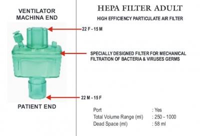 HEPA FILTER ADULT