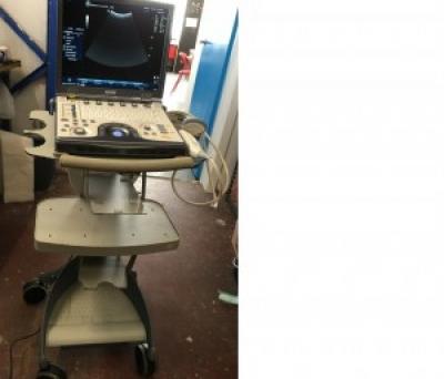 LOGIQ E Ultrasound Machine With 4 Probes