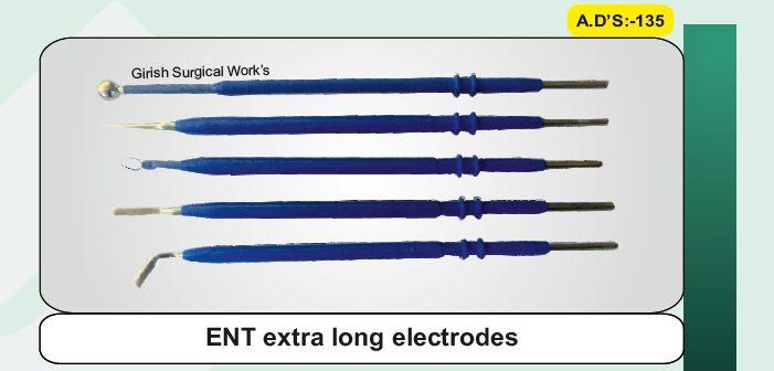 ENT extra long electrodes