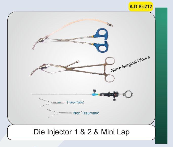 Die Injector 1 & 2 & Mini Lap