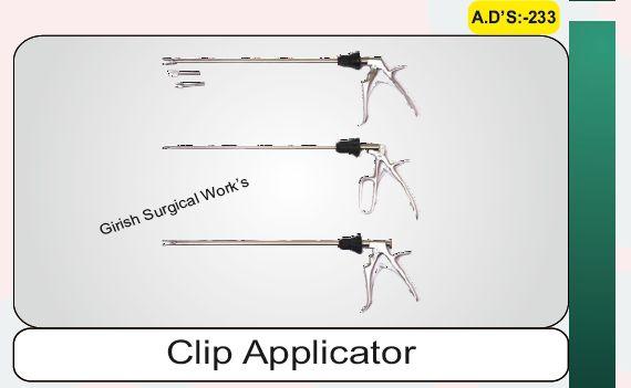 Clip Applicator single action
