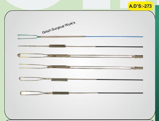 Single Stem TURP electrodes