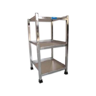 Bed Side Locker (S.S) 3 Shelves