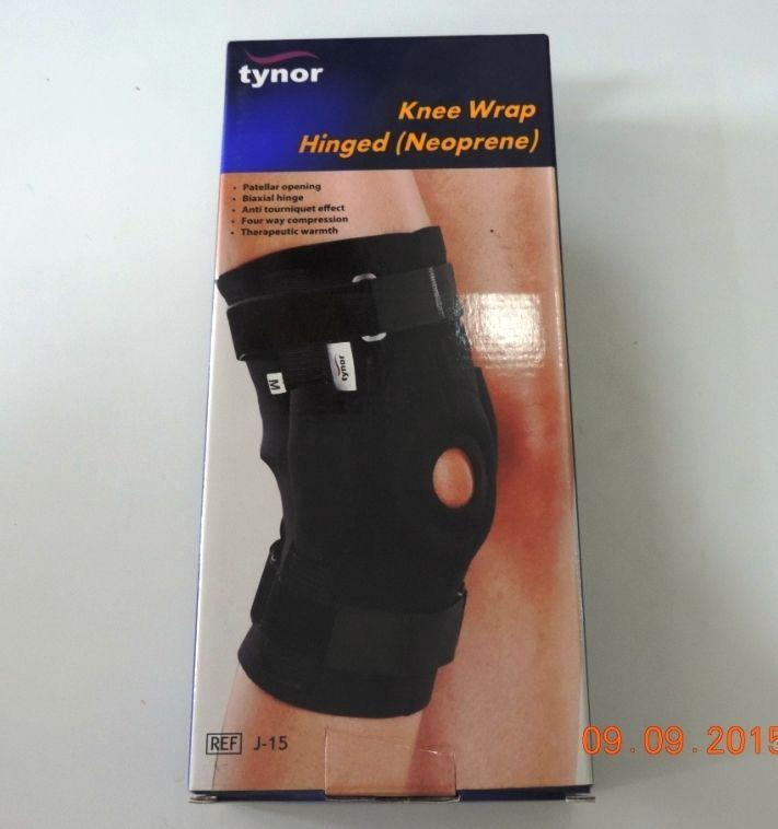 Paras Surgical-Knee Wrap Hinged - Tynor J15