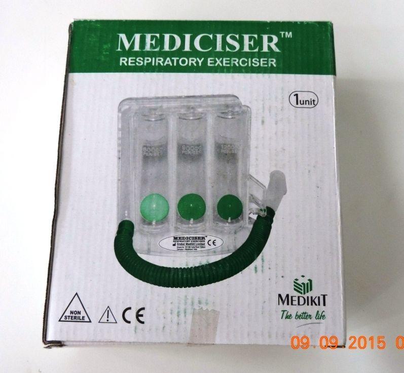 Paras Surgical-Mediciser Respiratory Exerciser - Medikit