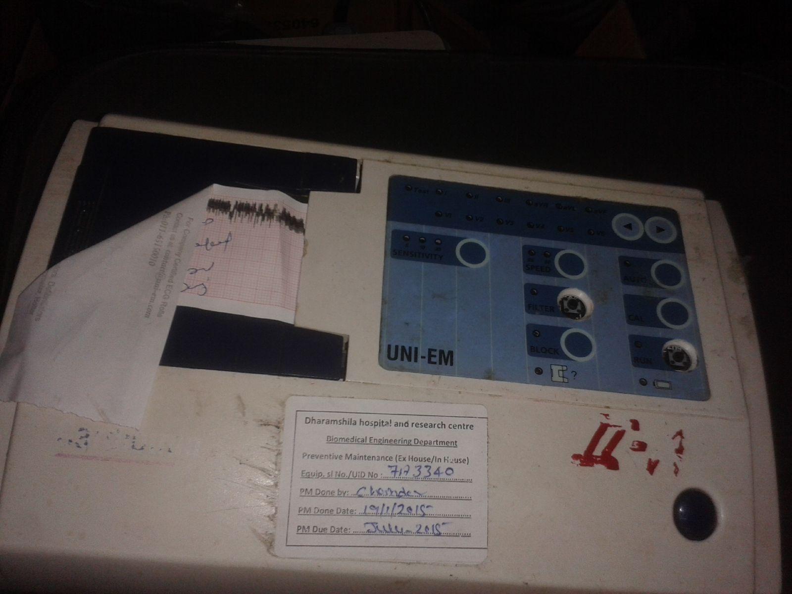 ECG Machine (2nd  A)