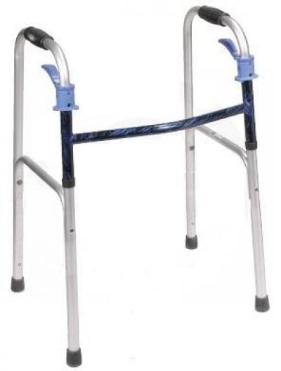 Folding walker Trigger type, wl14 Bharati Surgical & Medical Agency