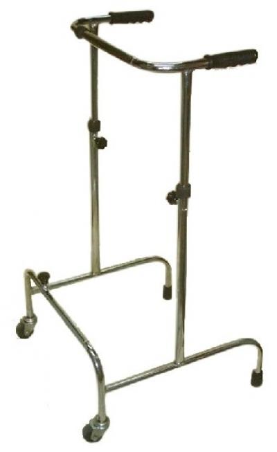 Height and width adjustable walker