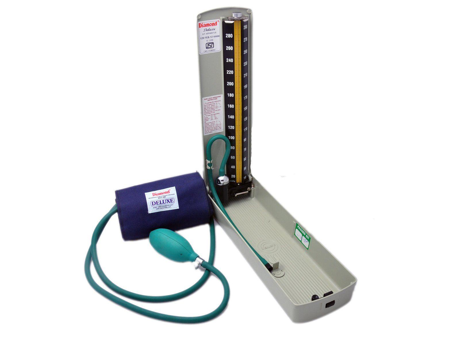 Diamond BP Mercury Meter/ Apparatus - DELUX