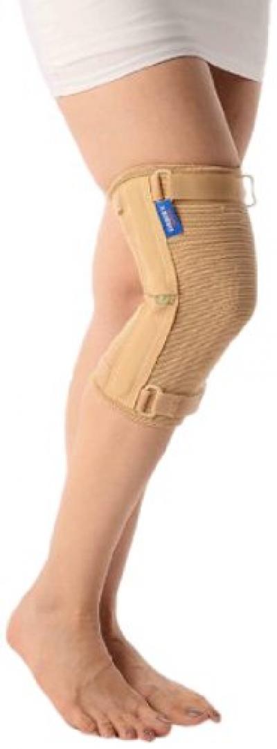 Vissco Elastic Knee Cap with Hinges - Medium
