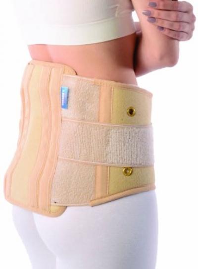 Vissco New Contoured Sacro Lumbar Belt with Side Straps - Large
