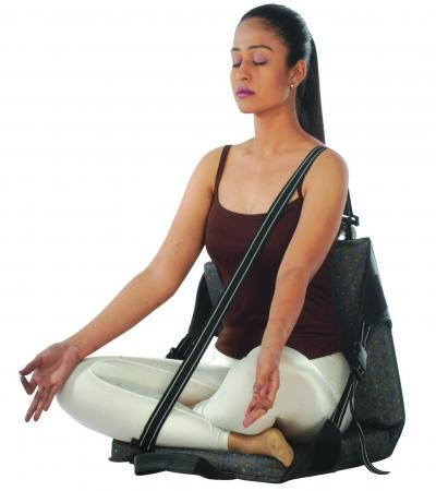 Vissco Orthopaedic Back Rest for Yoga - Universal