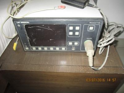 3 leads cardiac monitor