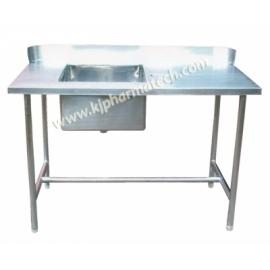 SS wash basin sink unit