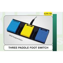 THREE PADDLE FOOT SWITCH