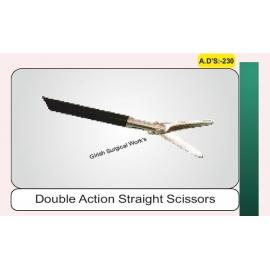 Double Action Straight Scissors