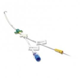 Double-lumen catheter set (Certofix Duo)