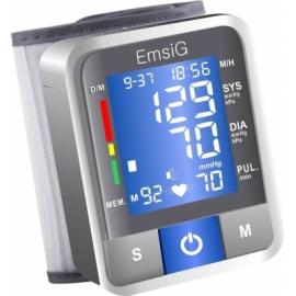 EmsiG BW04 Talking Wrist Blood Pressure Monitor
