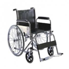 Wheel Chair Folding (Chrome)