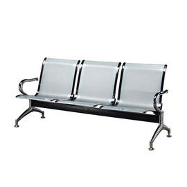 Lobby Waiting Chair Chrome Plated Handle