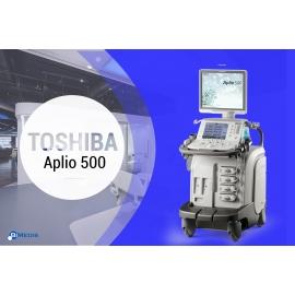 Ultrasound Diagnistic Toshiba Aplio 500