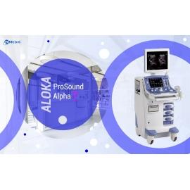 Ultrasound Diagnostics  Aloka ProSound Alpha 7