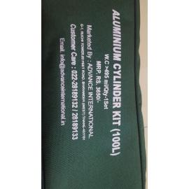 Brand New Unused Oxygen Aluminium Cylinder Kit  100 L