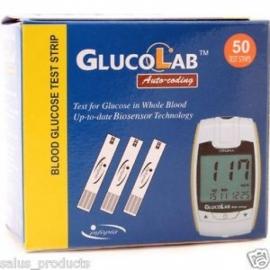 GlucoLab Blood Glucose Test Strips