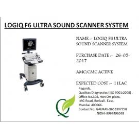 LOGIQ F6 ULTRA SOUND SCANNER SYSTEM