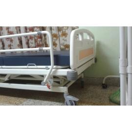 ICU Bed With Three Fold Screen