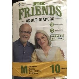 Friends Adult Diapers  Medium Size