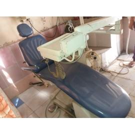 Bestodent Manual Dental Chair With Compressor Technomac X Ray Unit Unicorn Ultrasonic Scaler