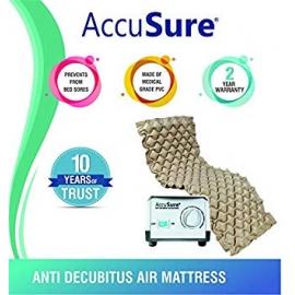 AccuSure Anti Decubitus Air Mattress Mm1 For Prevention Of Bed Pressure Sores  Multicolor