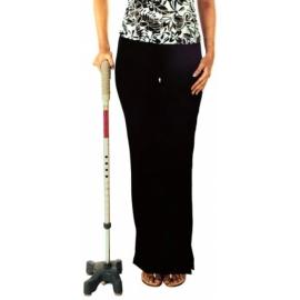 Vissco Invalid L-Shape Quadripod Walking Stick - Universal