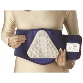 Vissco Neoprene Lumbar Back Belt with Silicone Pad - XL (9-inch)